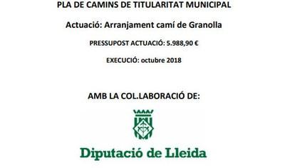 Pla de camins de titularitat municipal